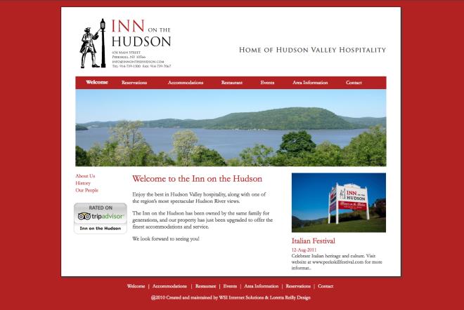 Inn On The Hudson Website