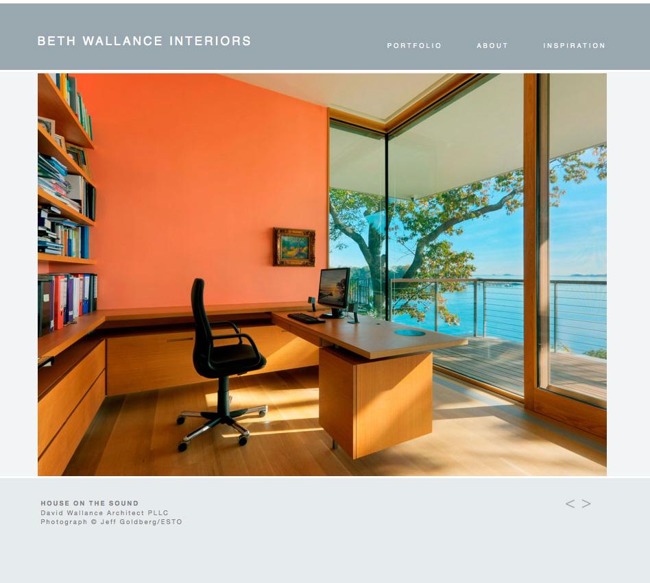 Beth Wallance Interiors Clementyne Design