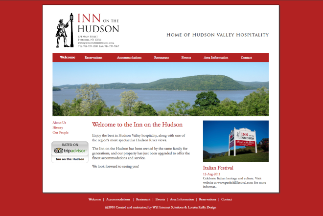 Inn On The Hudson Website