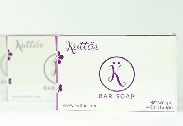 Krittar - HandMade Soaps - by Website Clementyne Design